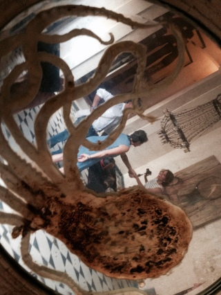 The Octopus at the Fundacion de Artistas