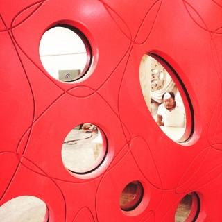 Jorge Pardo´s new studio in Merida a view into the carpenters shop