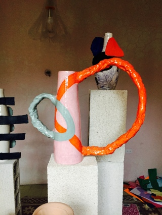 Hot out of the kiln of Milena Muzquiz