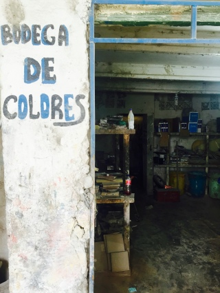 the color storeroom