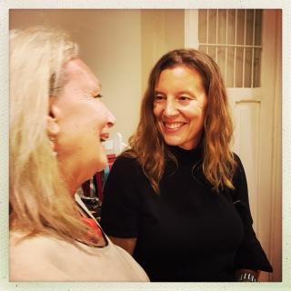 Shirley Higgens & Angela Damman at Casa Thó