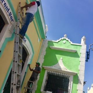 a corner in Santiago