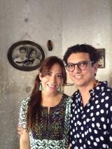 Bonnie & Guillermo Alger at Fundación de Artistas